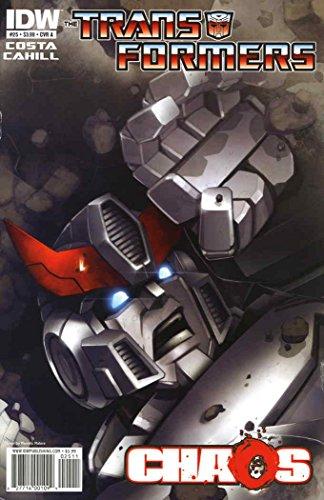 25a Transformer - Transformers (IDW, 2nd Series), The #25A FN ; IDW comic book