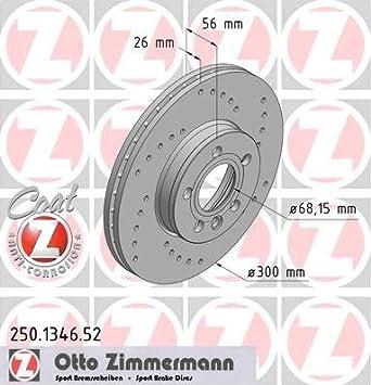 TRW DF4323 Bremsscheibe - /(Paar/)