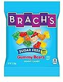 Brach's Sugar Free Gummy Bears Candy, 3 Ounce Bag, Pack of 12
