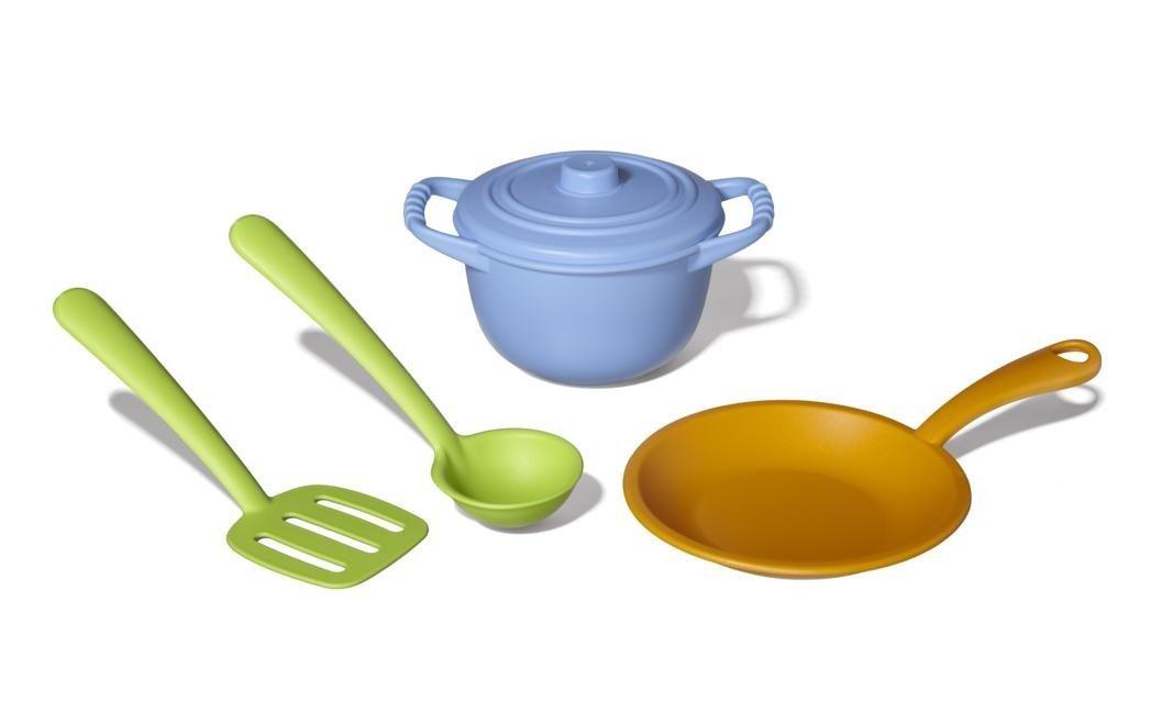 Spielgeschirr Plastik - Green Toys Kochset