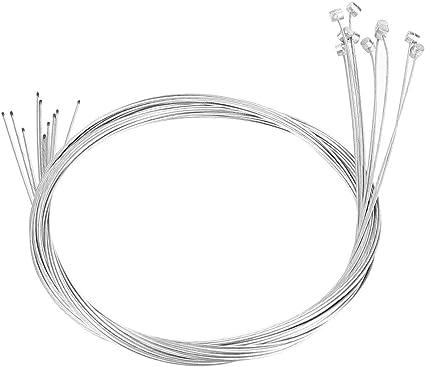 Corde de Frein de V/élo Kit de 10 C/âbles de Ligne de Freinage pour V/élo Solide pour Remplacement de R/éparation de V/élo