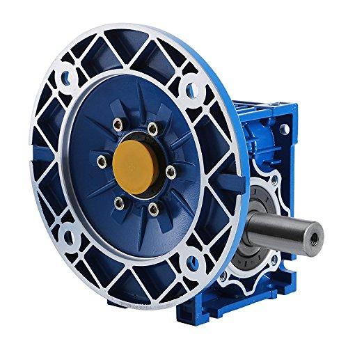 SucceBuy Worm Gear Reducer High Torque Speed Reducer Ratio 56C Speed Reducer Gearbox RV50 With Double Shaft