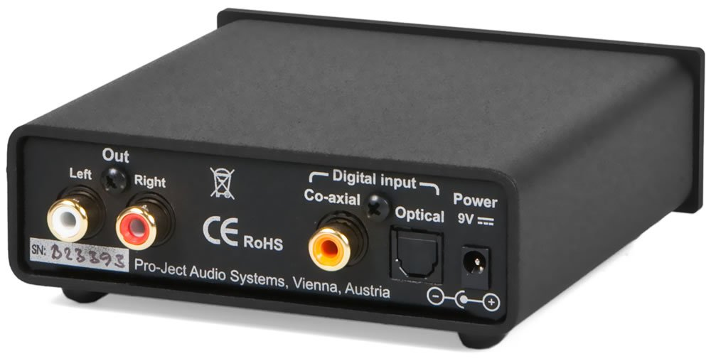Project Audio - DAC Box S FL - Filterless DAC - Silver