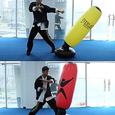 kangOnline - Columna de Boxeo Hinchable (1,6 m), Rojo ...