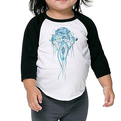 Lava Lamp Adult Womens Costumes (Jelly Fish Kid's Sleeve Raglan Clothes Unisex 2 Toddler Stylish)