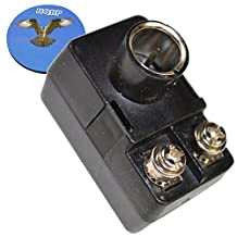 HQRP F-Type Balun Transformer for Coax Cable Antenna to Antenna Wires on Stereo Equipment + HQRP Coaster