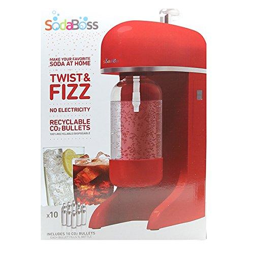 Big Boss 9402 Soda Boss Soda Making Machine, Red by Big Boss (Image #6)