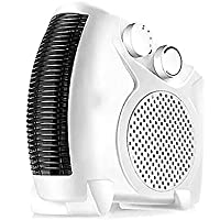SANDM Miniature Portable Air conditioner fan, Dual-use Air cooler Mini air conditioner cooling fan With dehumidifier For office Bedroom-White