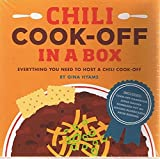download ebook chili cook-off in a box: everything you need to host a chili cook-off - by gina hyams (uncludes book, 5 judge badges, 12 numbered table tents, 6 scoreboards, 4 prize ribbons) pdf epub