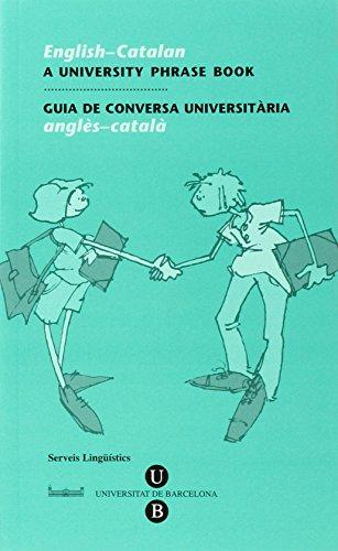 English-Catalan, A University Phrase Book