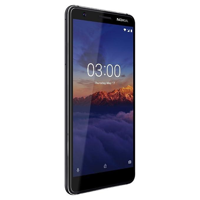 0c299de1b Amazon.com  Nokia 3.1 - Android 9.0 Pie - 16 GB - Dual SIM Unlocked  Smartphone (AT T T-Mobile MetroPCS Cricket H2O) - 5.2