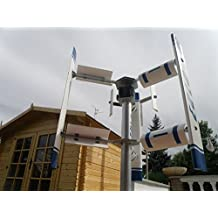 Small vertical axis wind turbine generator EOLO 3000 windmill Darrieus Savonius 3KW