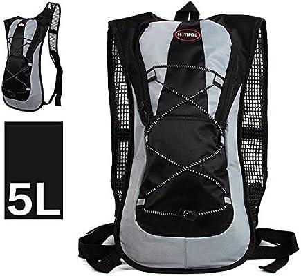 Theoutlettablet® Mochila Impermeable Bici para Ciclismo Bicicleta Bolsa Hidratacion Agua (2L) Mochila Capacidad 5 litros montaña: Amazon.es: Electrónica