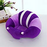 Baby : RANDER Infant Chair Support Sofa Baby Protective Chair Baby Learns to Sit in Safety Seats (Purple)