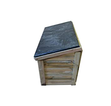 Cobertizo de madera para jardín Bespoke jardín cobertizo: Amazon.es: Jardín