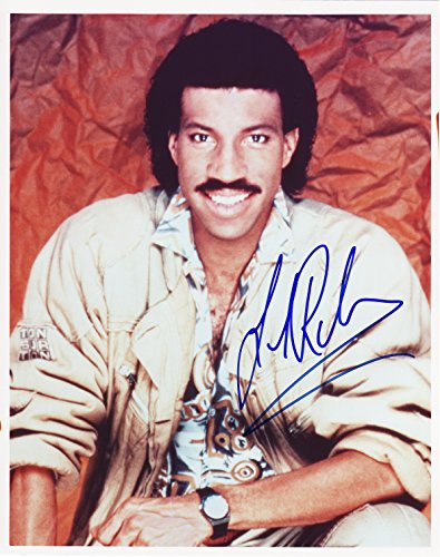 Lionel Richie signed autographed 8 X 10 Reprint Photo - Beautiful ! Beautiful Autographed Photo