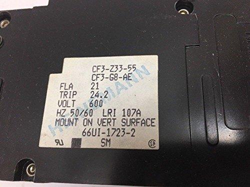 HEINEMANN ELECTRIC INC. Heinemann Electric Circuit Breaker Cf3-Z33-55 600V