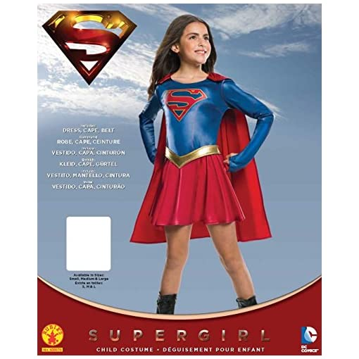 Rubie's Costume Kids Supergirl TV Show Costume, Medium, Model:630076_M