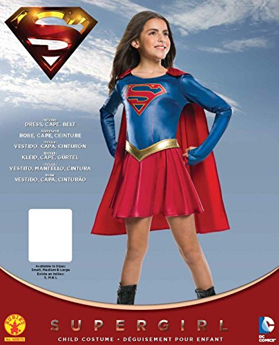 Rubie's Costume Kids Supergirl TV Show Costume, Small by Rubie's (Image #1)
