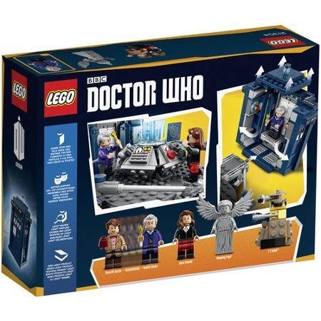 LEGO Doctor Who TARDIS Set, Iconic TARDIS, Eleventh Doctor's Fez and the Doctor's by LEGO