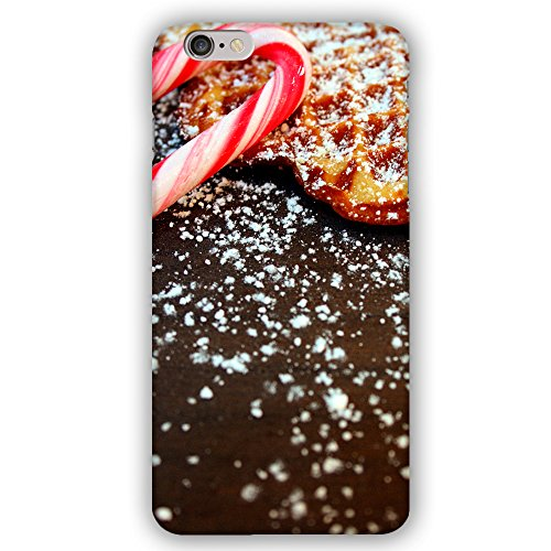 Christmas Holiday Candy Cane and Italian Cookie Pitzel Apple iPhone 6 / 6S Phone Case