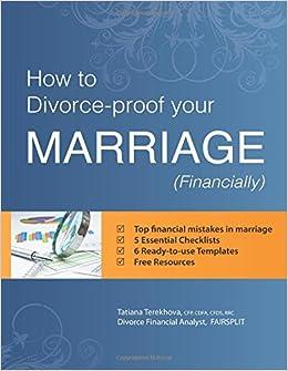 Liquidating assets before divorce checklist