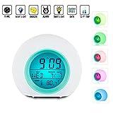 Alarm Clock for Kids,Vekey Wake Up Clock Night Light Digtal...