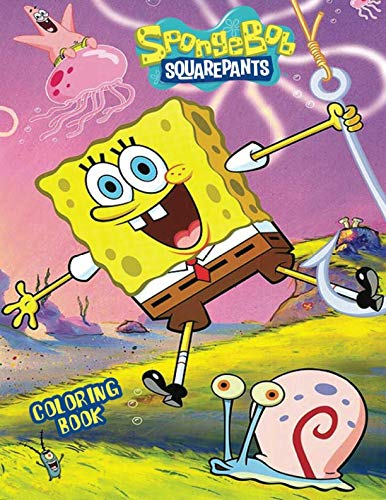 SPONGEBOB Coloring Book: Activity Book for Kids and Adults - 40 illustrations]()