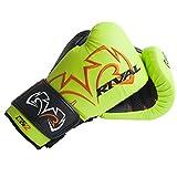 RIVAL BOXING GLOVES (RB11 Evolution Bag Gloves) (Lime Green, MEDIUM)