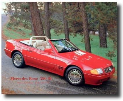 Chevy Corvette Car At Golden Gate Bridge Wall Decor Art Print Poster 16x20