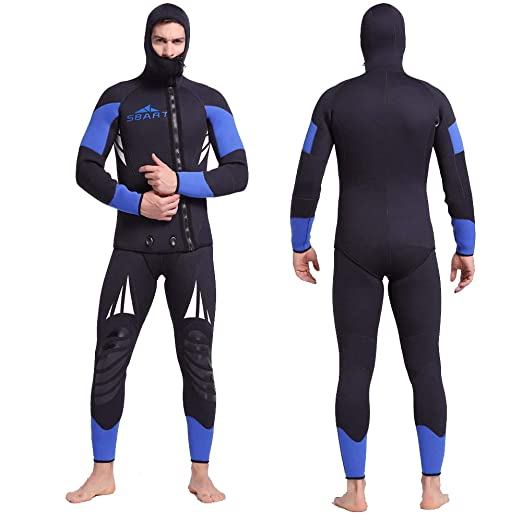 Traje de neopreno para hombre, traje de surf para hombre chaqueta ...