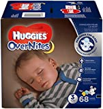 HUGGIES OverNites Diapers, Size 5 (27 lb) , Overnight Diapers, Giga Jr Pack, 66 Count