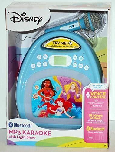 kiddesigns, inc. Disney Bluetooth MP3 Karaoke with Light Show - Disney Princesses by kiddesigns, inc. (Image #3)