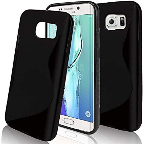 S7 Case,KAWOO Anti-Shock Silicone Rubber S-Line Wave Soft Gel Skin Back Case Cover Bumper For Samsung Galaxy S7 Black Sales