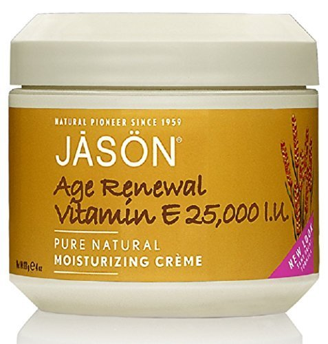 Age Renewal Vitamin E Creme 25,000 IU Jason Natural Cosmetics 4 oz Cream