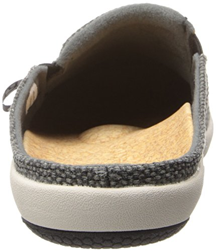 Spenco siesta Slide Mule Carbón Gris