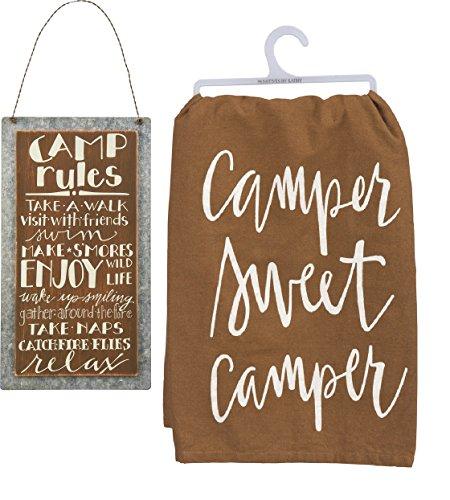 camper sweet camper sign - 3