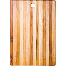 "Palais Dinnerware Teak Cutting Board - Wooden Butcher Block (Teak Wood 15"" X 11"" X 1"")"