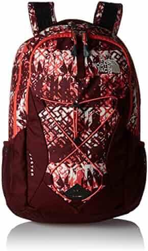 The North Face Women's Women's Jester Deep Garnet Red Ethnique Print/Deep Garnet Red Backpack