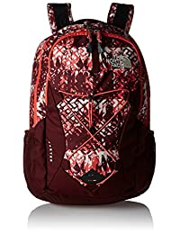 The North Face Jester Backpack - Women's - ethnique print/deep garnet red, one size