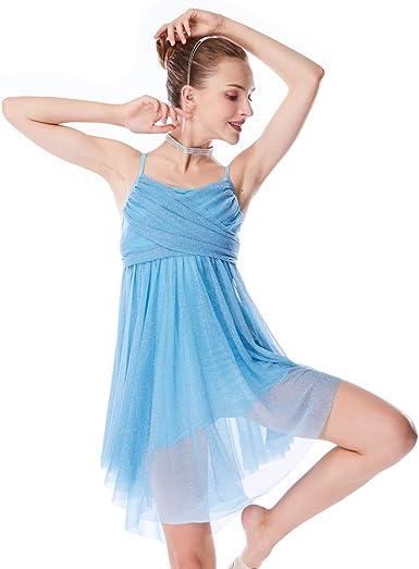 Dance costume wear lyrical jazz contemporary gymnastics performance Two Piece Costume
