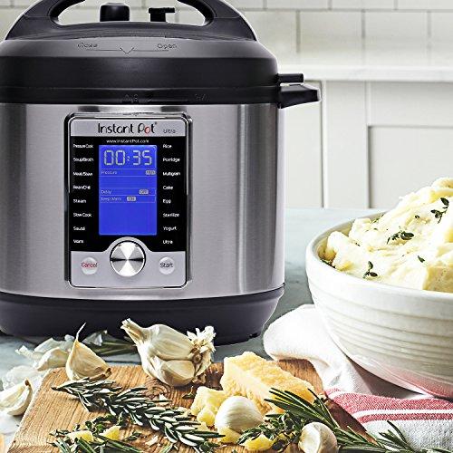 Large Product Image of Instant Pot Ultra 6 Qt 10-in-1 Multi- Use Programmable Pressure Cooker, Slow Cooker, Rice Cooker, Yogurt Maker, Cake Maker, Egg Cooker, Sauté, Steamer, Warmer, and Sterilizer