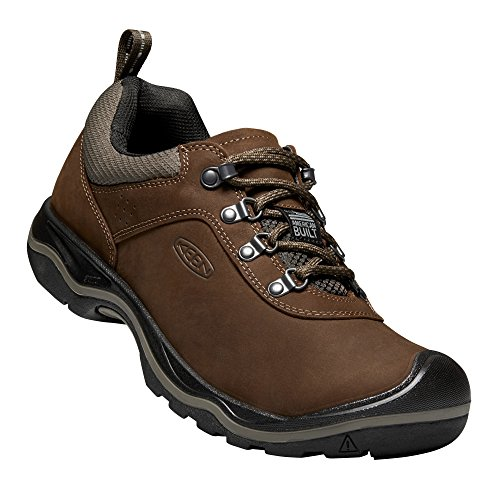 KEEN - Men's Rialto Lace Everyday Walking Shoe, Dark Earth,