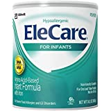 EleCare for Infants Unflavored Powder with DHA/ARA - 14.1 ounces - Case of 6