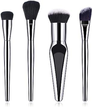 Drawihi Set de brochas para Maquillaje - 4 brochas: Amazon.es: Electrónica