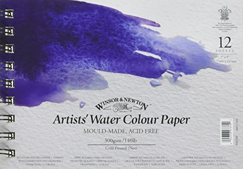Winsor & Newton 6662566 Artists' Cold Pressed Water Colour Pad