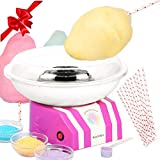 cotton maker - Classic Cotton Candy Maker by Secura - Sugar, SugarFree, or Hard Candy Cotton Candy Machine CCM668