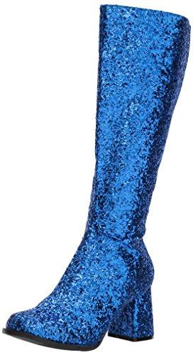 Ellie Shoes Women's Gogo-g Boot, Blue, 9 US/9 M US