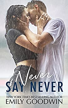 Never Say Never (A Taking Chances Standalone: Book Three) by [Goodwin, Emily]