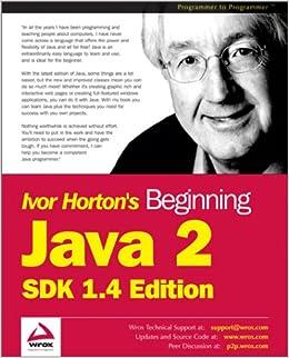 Book Beginning Java 2: SDK 1.4 Edition